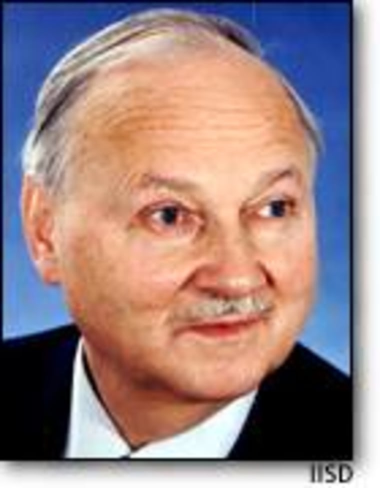 Maurice Strong is a Canadian businessman, environmentalist and diplomat.
