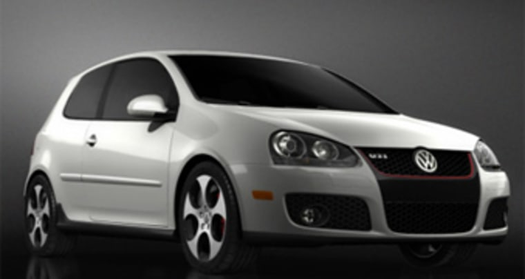 Volkswagen's Golf AG GTI was named the 2007 car of the year by Automobile Magazine. Toyota's Camry won a similar award from Motor Trend magazine.