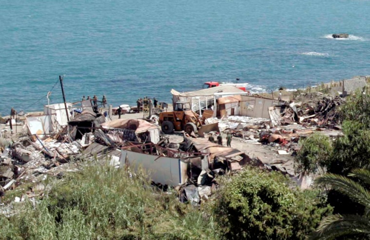 suicide bomb attack on military navy barracks in Delly