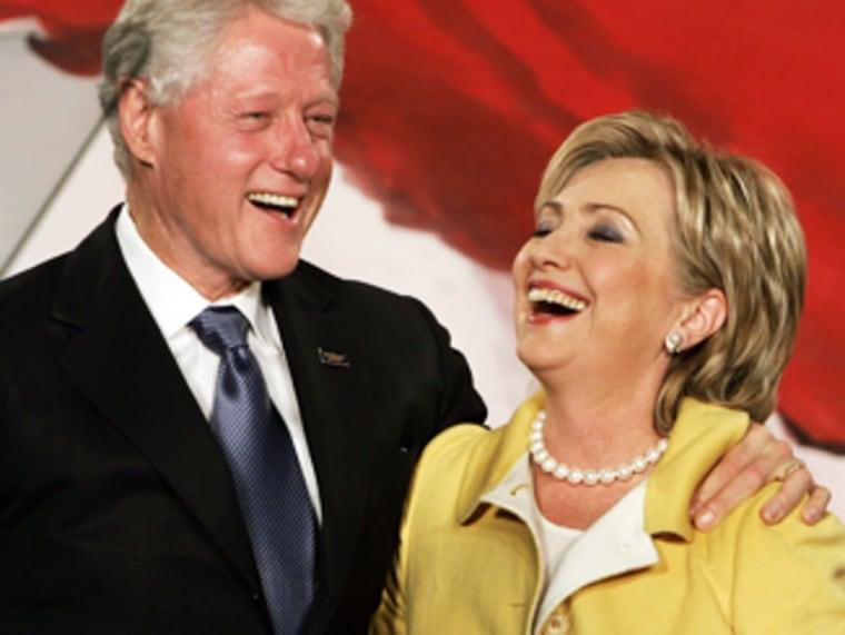 Democratic Senator Hillary Clinton of Ne