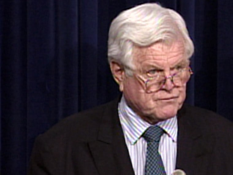 Sen. Edward Kennedy, D-Mass., has confused some of his loyal supporters with his willingness to accept Republican-backed measuresregarding illegal immigrants