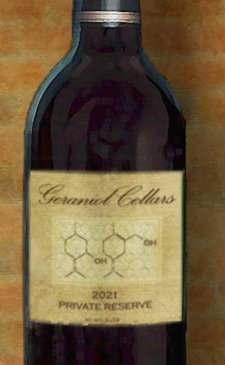 In the future, vintners may be able to design wines that accentuate volatile organic compounds such as geraniol, which contributes a distinctly floral flavor.