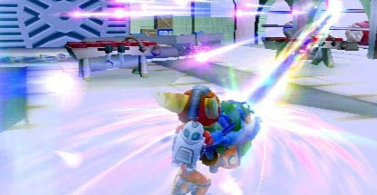 """Over-the-top weapons are always the real star of """"Ratchet and Clank"""" games."""