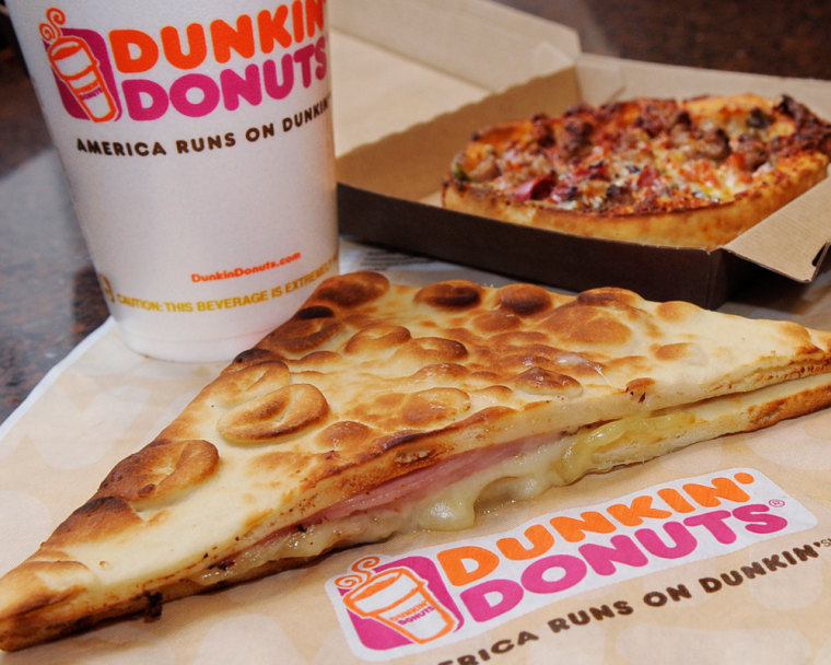 In addition to the new menu items, Dunkin' Donuts also hopes the new ovens used to make them will boost customer satisfaction with breakfast sandwiches, since microwaving can create limp eggs and mushy bread.