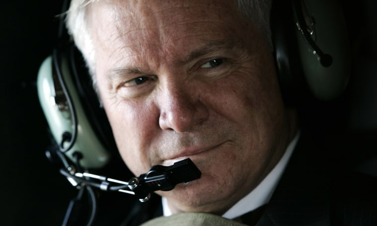 Image: U.S. Secretary of Defense Robert Gates.