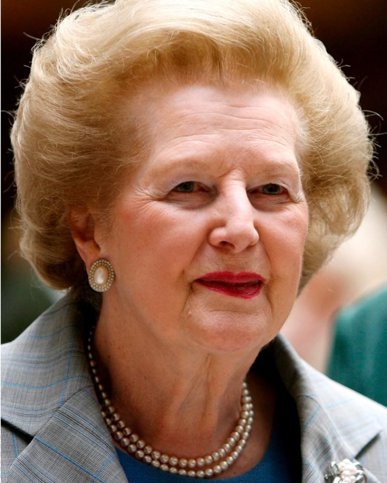 Image: Margaret Thatcher.