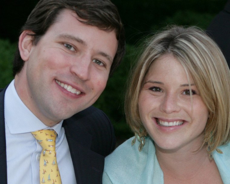FILE: Jenna Bush and Mr. Henry Hager
