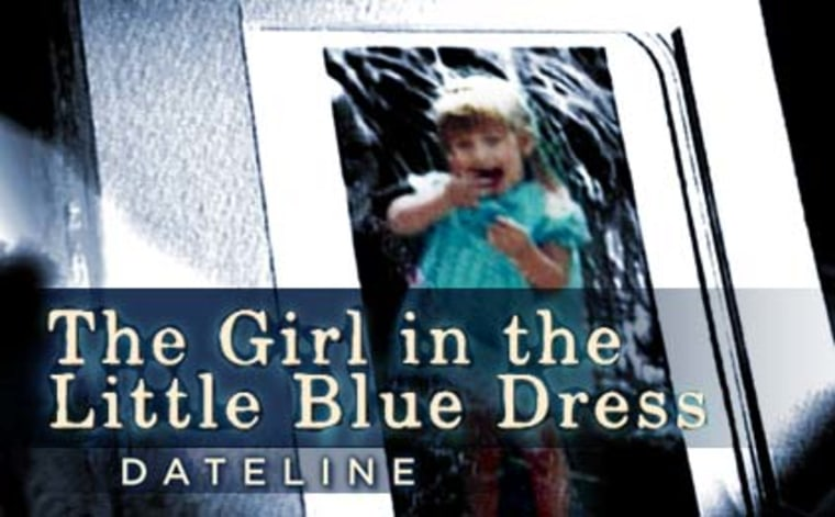 Image: The Girl in the Little Blue Dress