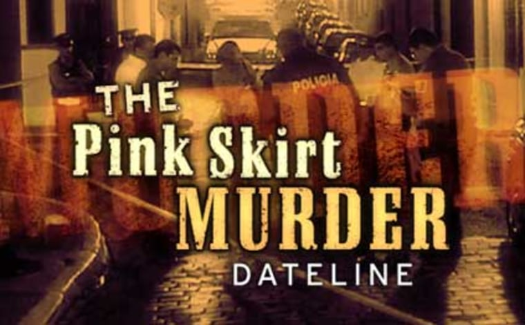 Image: The Pink Skirt Murder
