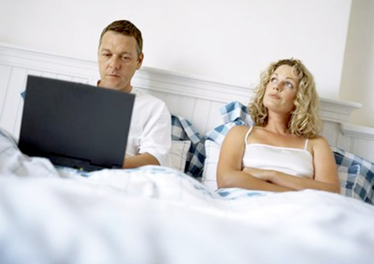 Image: Technology in the bedroom