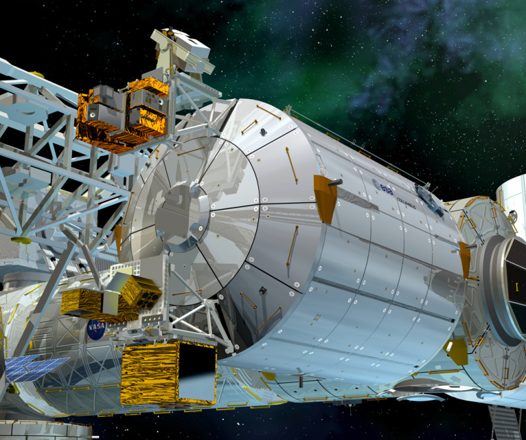 Image: Columbus laboratory module for International Space Station