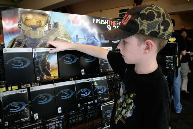 Image: Video game Halo 3 for sale