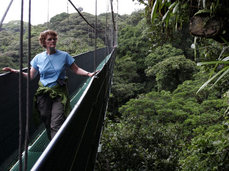 Image: Tourist in Costa Rica