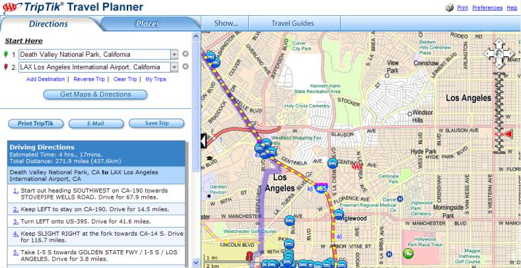 Image: AAA map