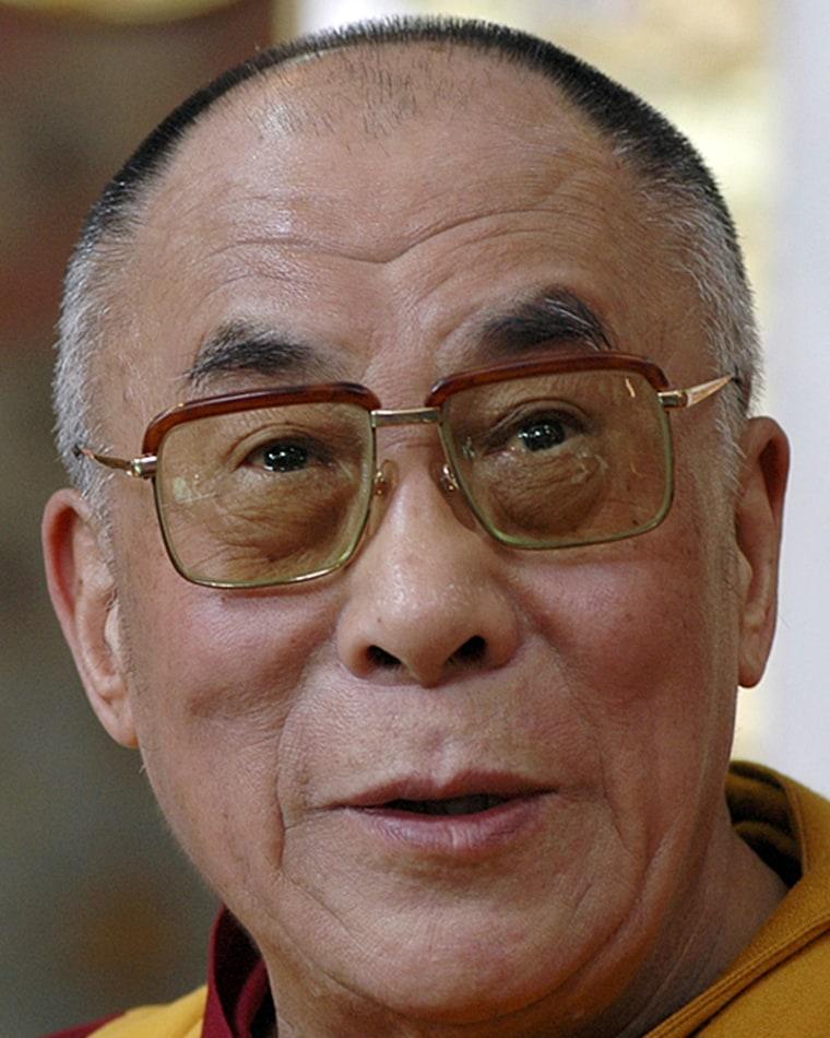 Image: Tibetan spiritual leader the Dalai Lama