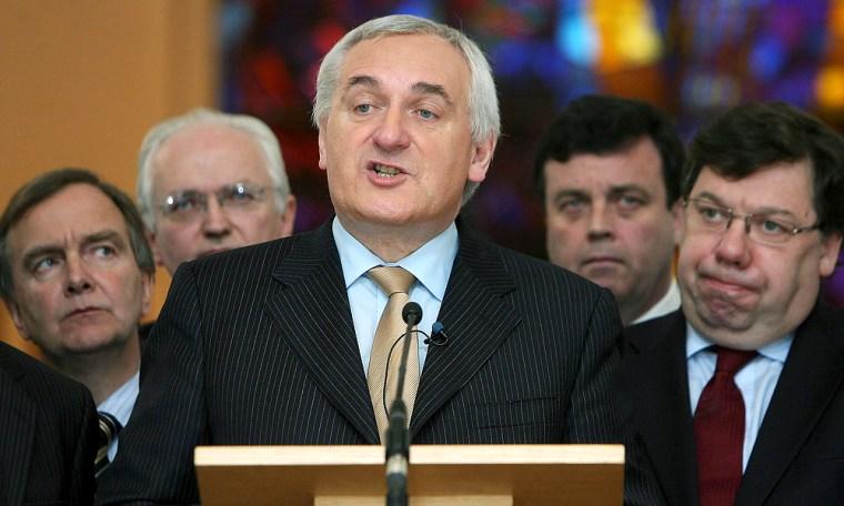 Image: Irish Taoiseach (Prime Minister) Bertie Ahern