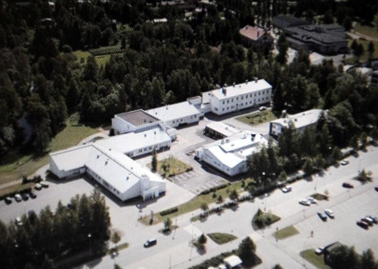 Image: Kauhajoen palvelualojen oppilaitos school where a shooting took place in Kauhajoki, Finland