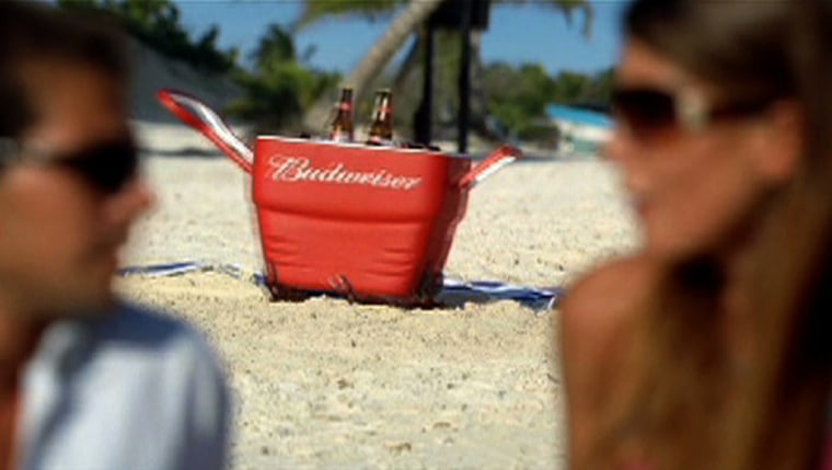 Image: Budweiser commercial