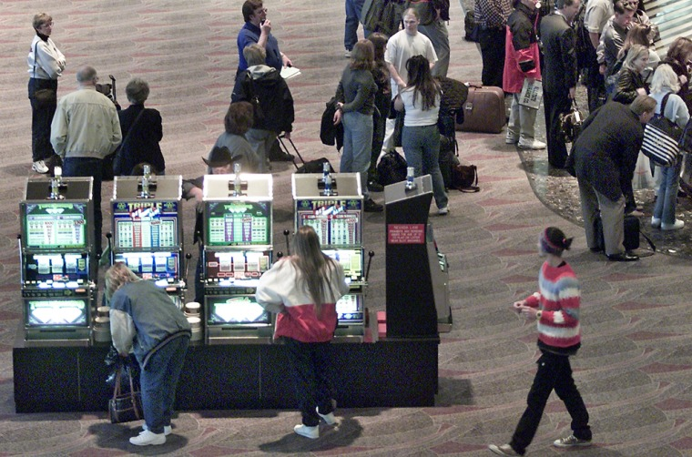Image: Slot machines in airports