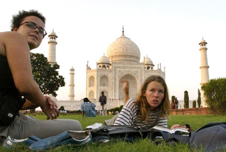 Image: India tourist boom