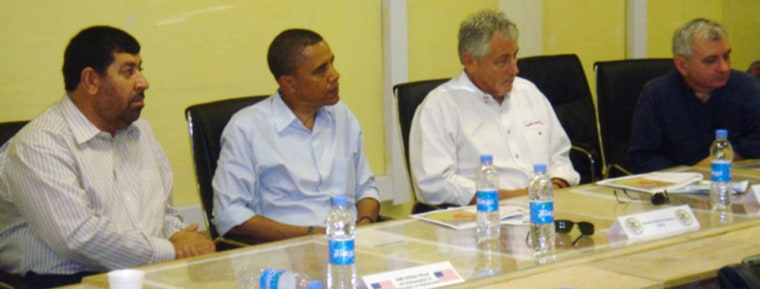 Image: U.S. Democratic presidential contender Barack Obama