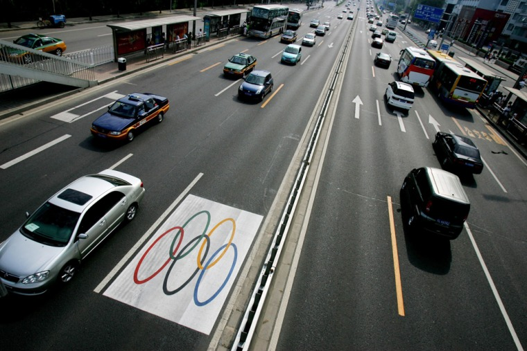 Beijing Opens New Transportation Links Prior To The Olympics