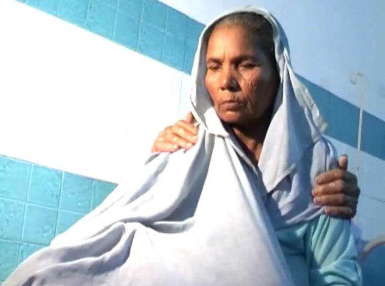 Image: Omkari Panwar, IVF mother of twins at 70