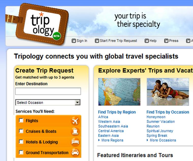 Image: Tripology website