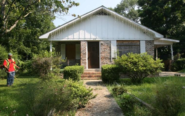 Image: Hank Aaron's childhood home