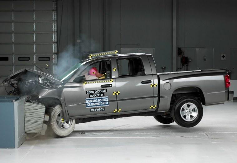 Image: Dodge crash test
