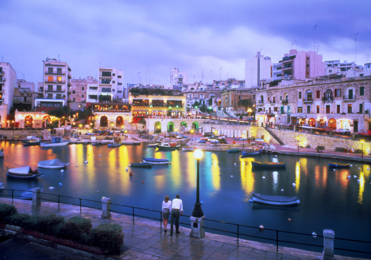 Image: St. Julian's Bay in Malta