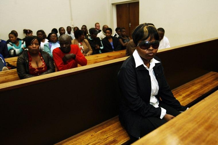 Image: Former Oprah Winfrey school matron Virginia Tiny Mokgobo
