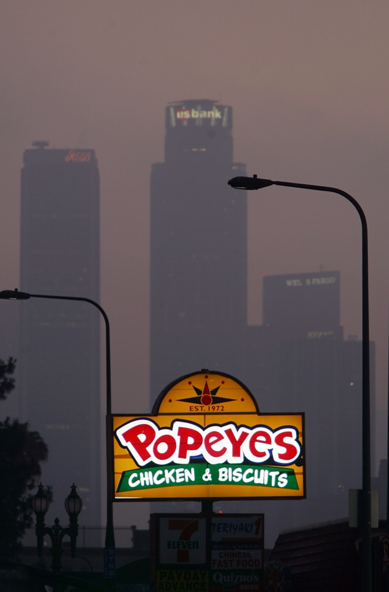 Image: L.A. City Council Proposes Ban On Fast-Food Chains