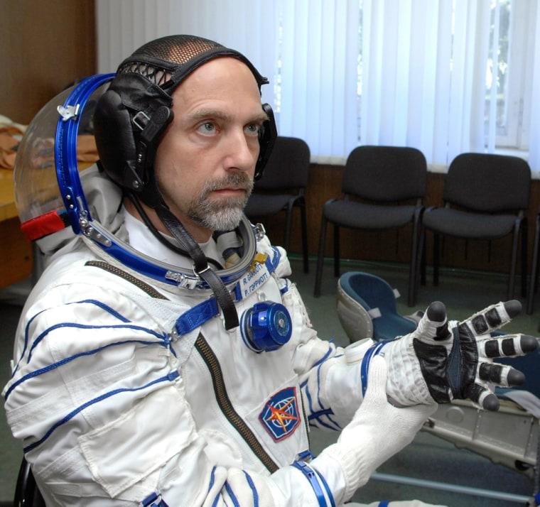 Image: Space tourist Richard Garriott