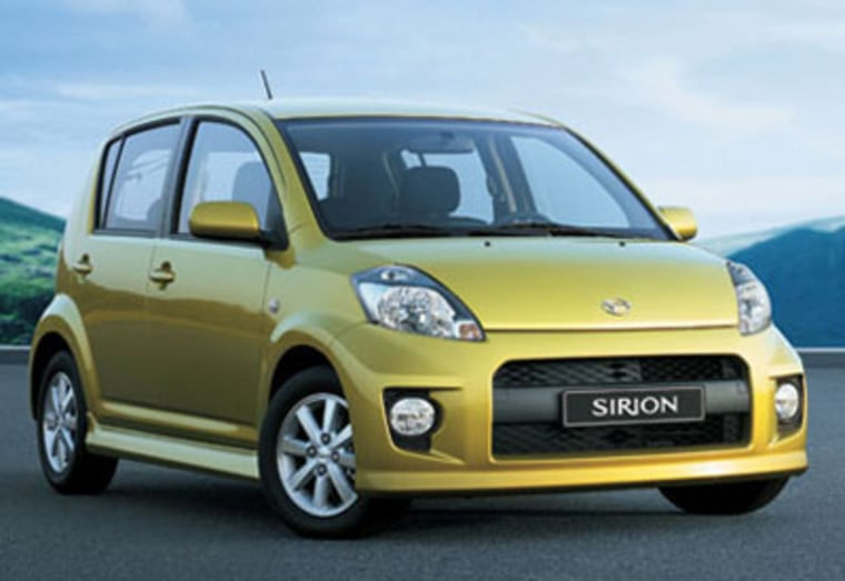 The Daihatsu Sirion and it's 1 liter engine will set you back $12,315 plus the charges to import it -- you can buy them in New Zealand.