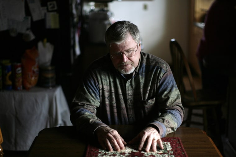 Image: Robert Hanson, father of Staff Sgt. Joshua Hanson, who was killed in Iraq