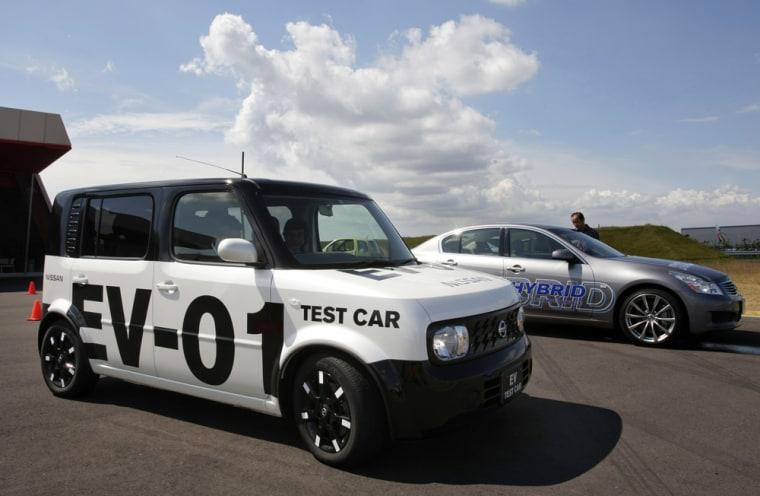 Image: Nissan Motor Co.'s electric car EV-01