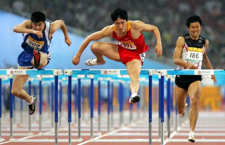 Image: World Record holder Liu Xiang