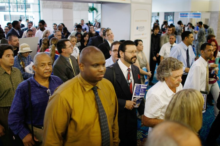 Image: Florida Residents Look For Employment At Broward County Job Fair