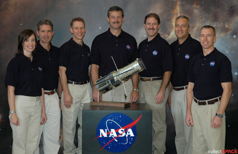 Image: Fifth and final Hubble crew