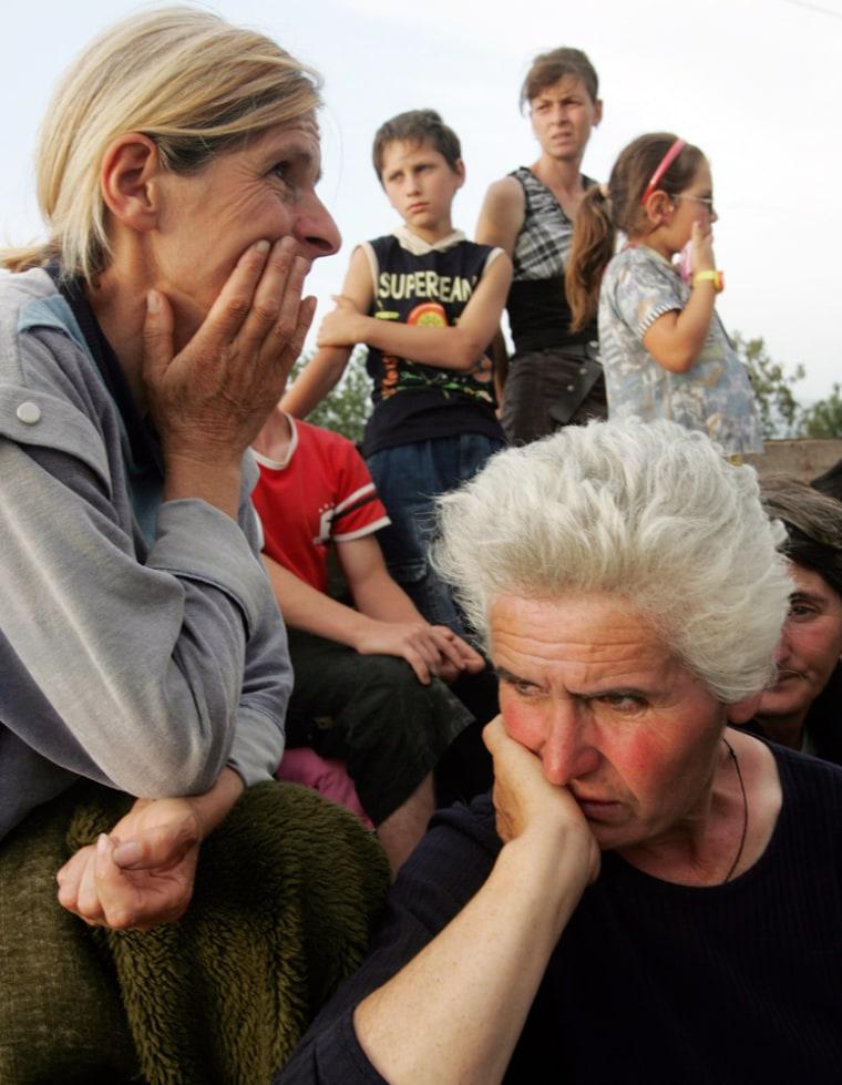 Image: Georgian refugees