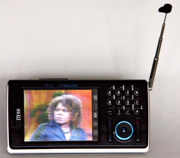Image: TV phone