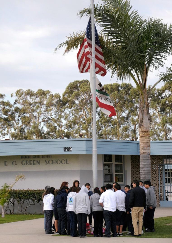 Image: Memorial for slain student Lawrence King in Oxnard, Ca