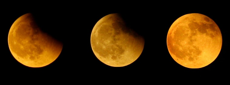 Image: Lunar Eclipse Visible Throughout Most Of China