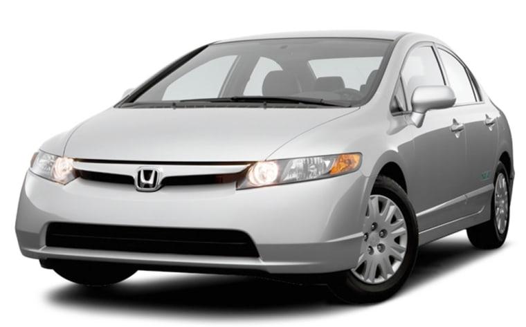 Image: The Honda Civic GX
