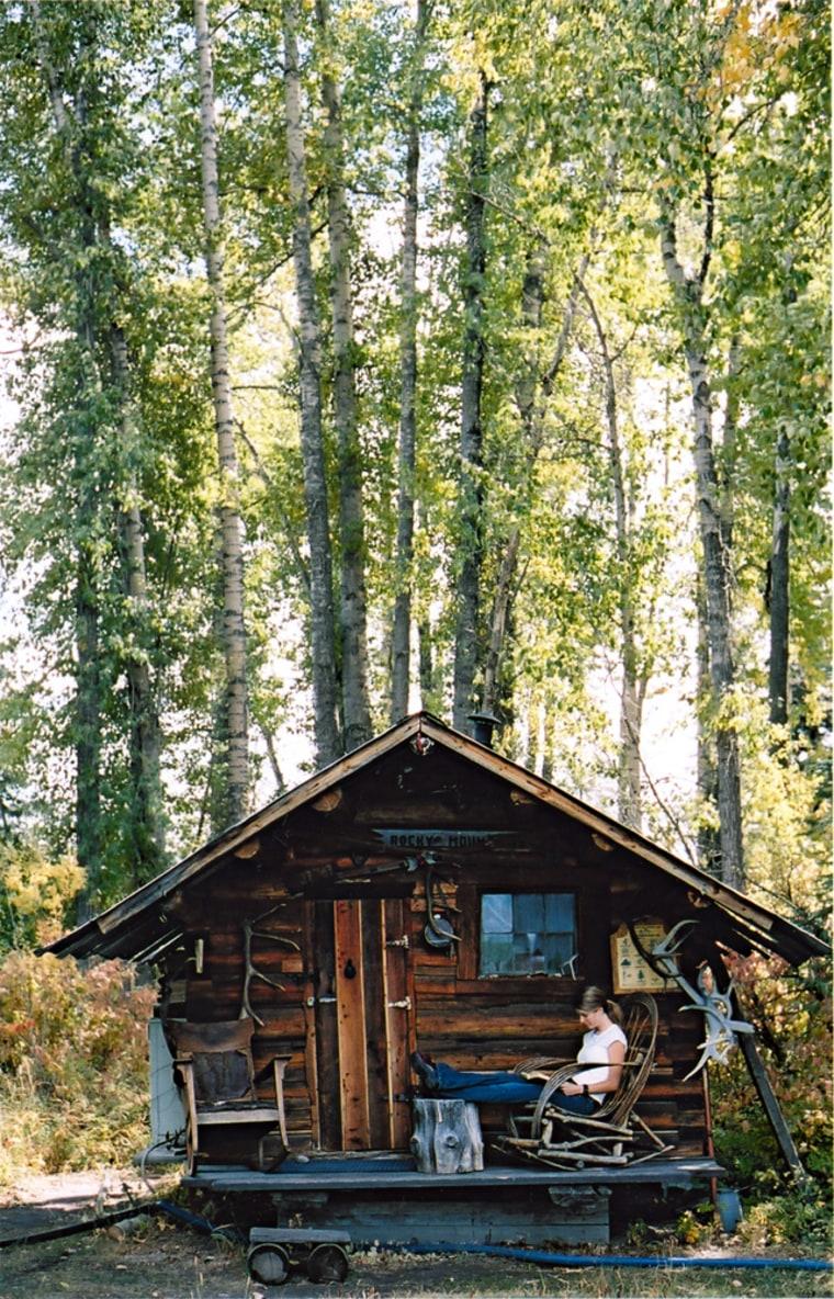 Image: Cabin at North Fork Hostel