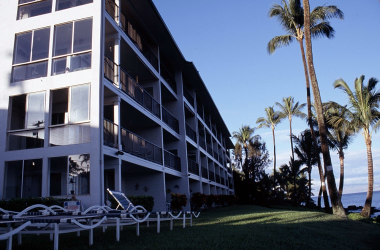 Image: Balconies at the Noelani condos in Maui