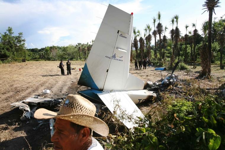 Image: Guatemala plane crash