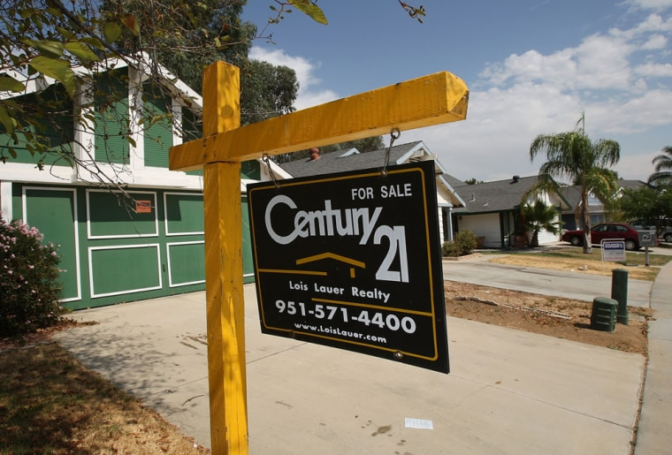 Image: Two vacant homes are for sale