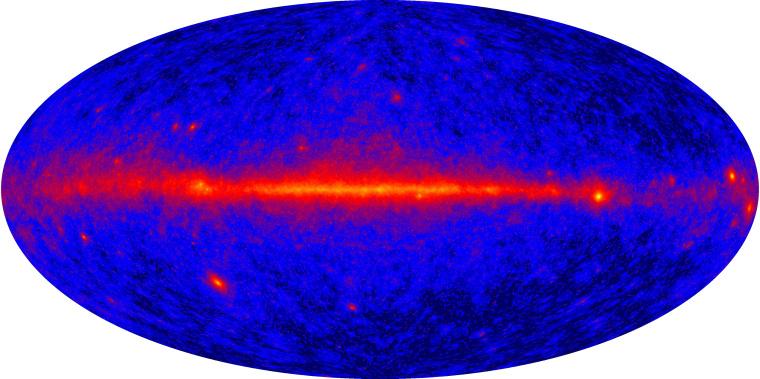 Image: All-sky gamma-ray map